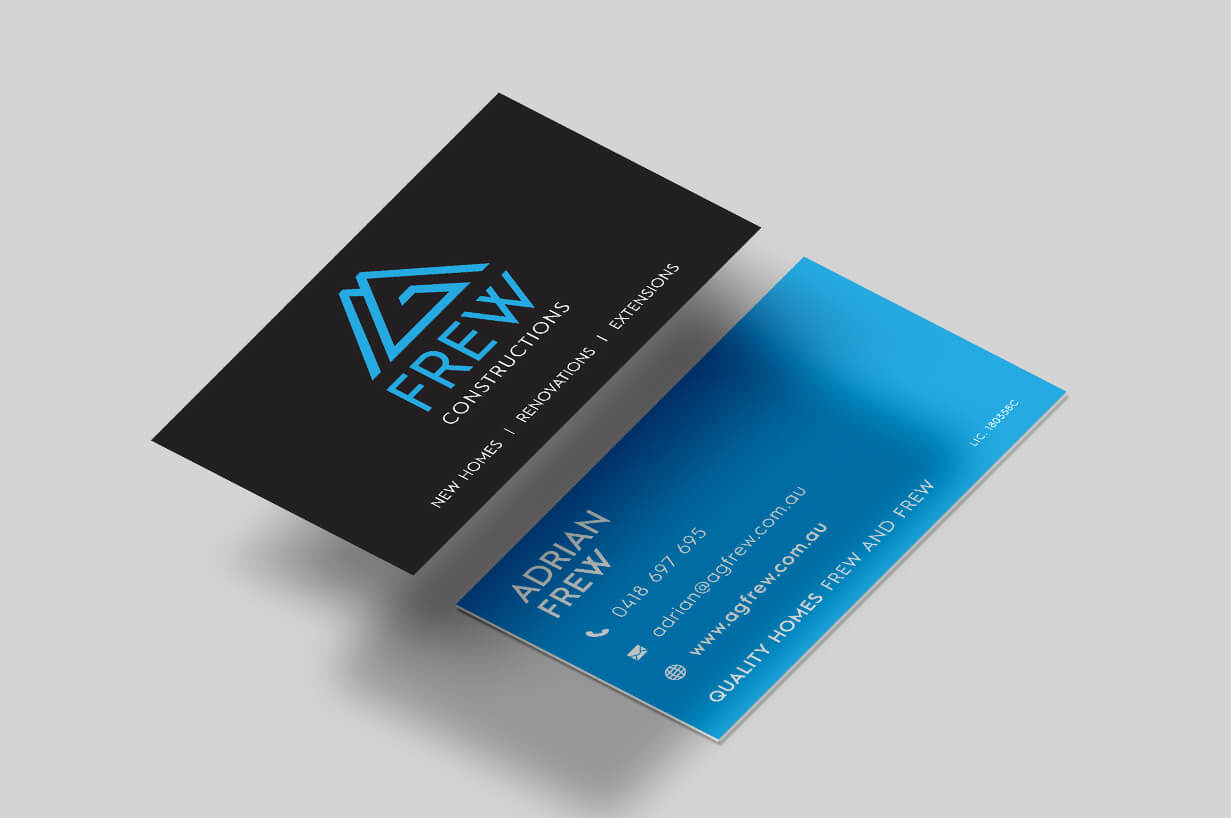 AG Frew_Business Card Design